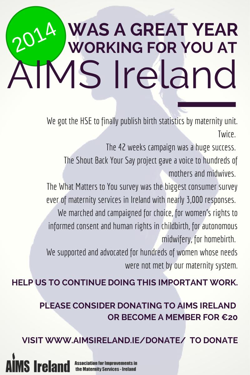 Donate to AIMS - AIMS Ireland